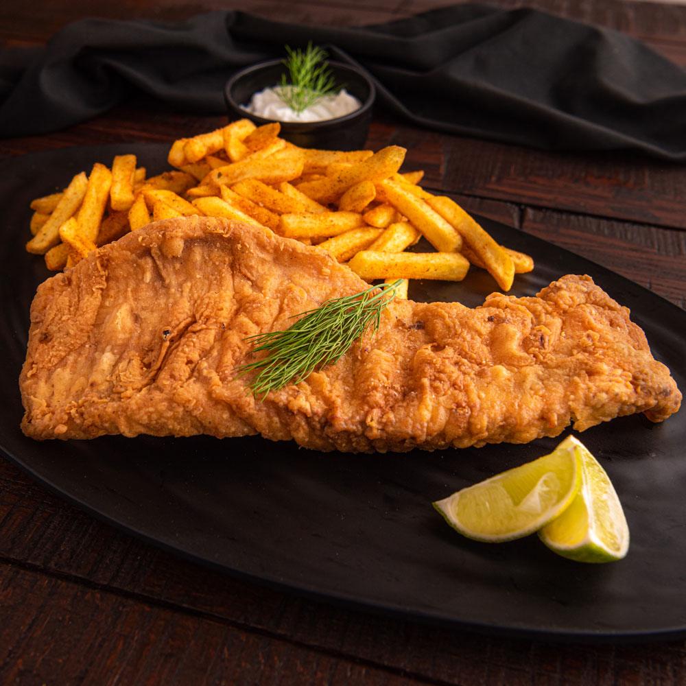 Fried Hamour Fish Fillet
